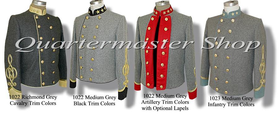 Quartermaster Shop's Civil War Officer Confederate Colonel ...