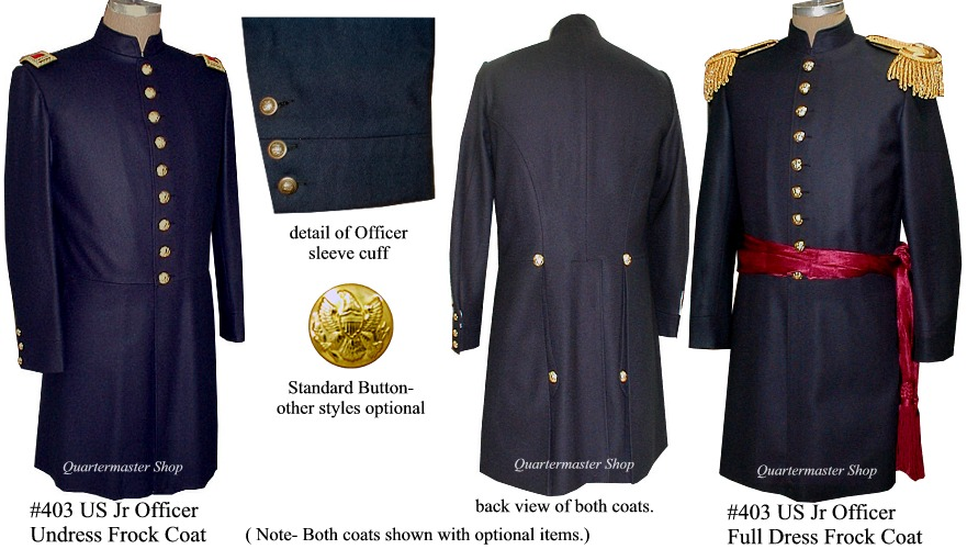 Quartermaster Shop S Union Junior Officer Frockcoat