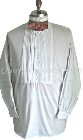 Pleated Shirts